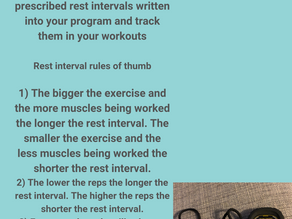 The Science Of Rest Intervals