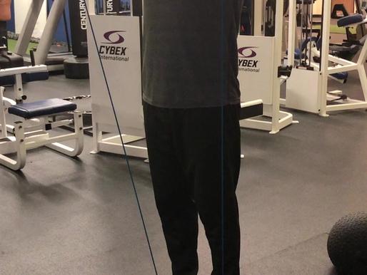 Training external rotators for a balanced physique