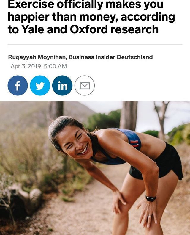 Yale and Oxford research study shows positive effects of exercise on mental health