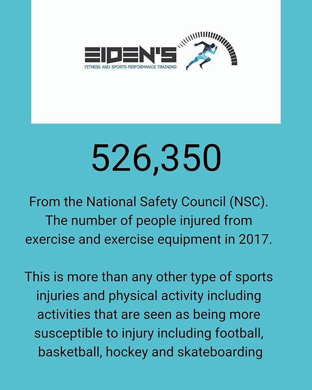 In 2017 there were 526,350 exercise related injuries