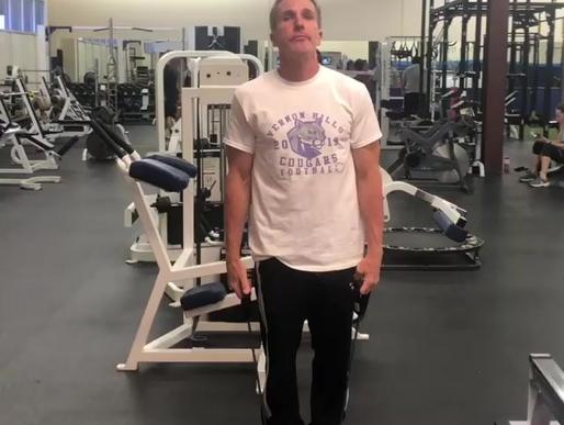 Shoulder combo exercise
