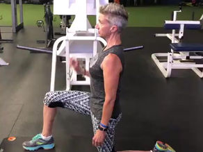 Stretching the hip flexors