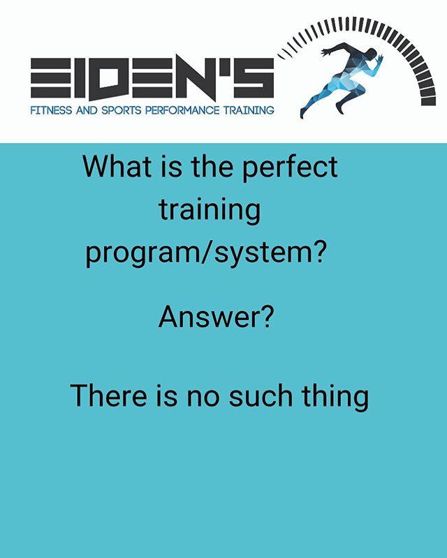 The perfect training program?