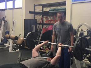 Shoulder health on barbell pressing movements