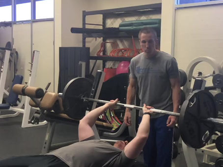 Shoulder health on barbell pressing movements