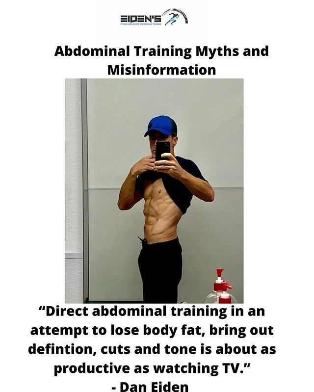 The truth about abdominal training