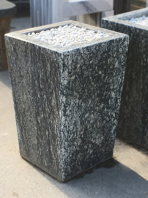 Granite Planter, Smooth Finish