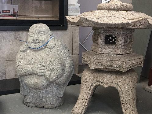 Granite Monk Statue