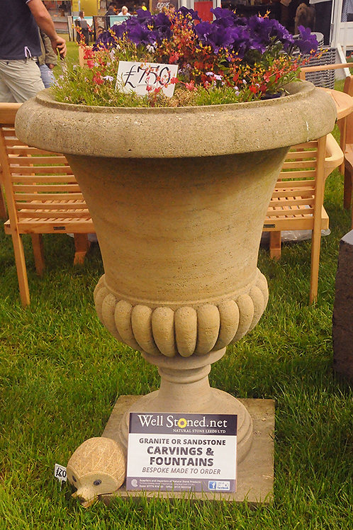 Versailles Handmade Gritstone Vase (1 available)