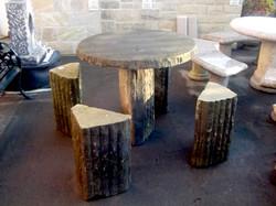 Flintstone Table