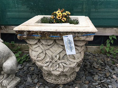 Old Limestone Planter (2 available)