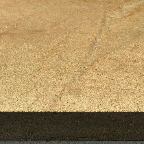 Buff Sandstone Paving: 6 Sides Sawn
