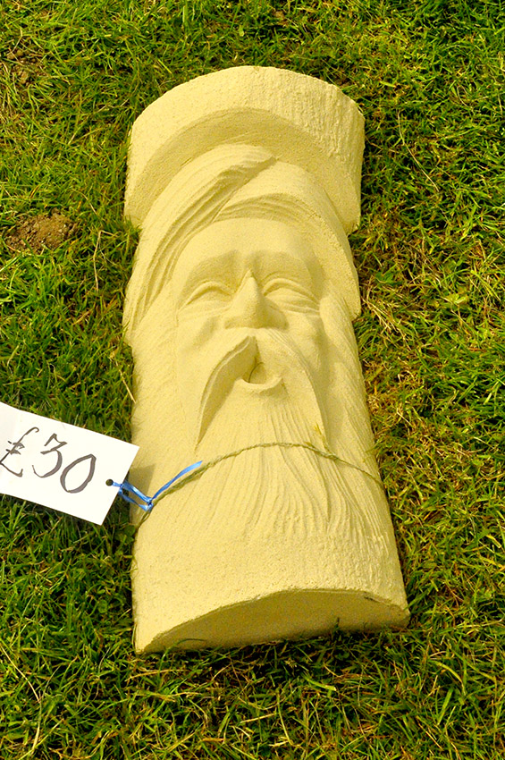 Reconstituted Stone Green Man