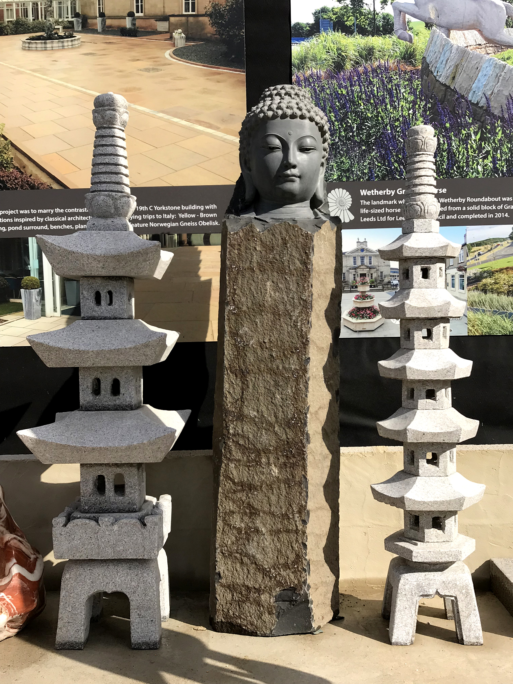 Go Ju Tou and Nara Lanterns