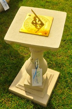 Reconstituted Stone Sun Dial