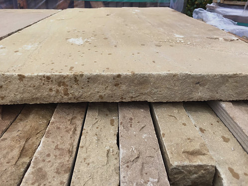 Buff Sandstone Wall Toppings / Copings
