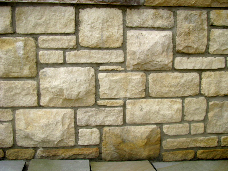 Random Cream Tumbled Limestone