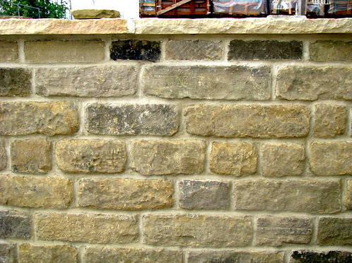 Sandstone Delph Reclaimed Coursed
