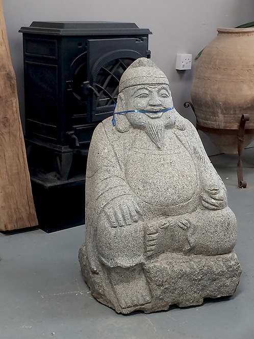 Granite Traveller Statue