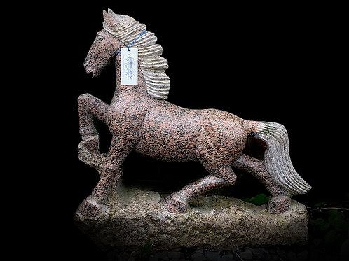 Large Granite Horse/Pony Pink