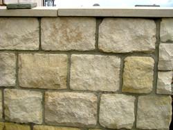 215mm Cream Tumbled Limestone