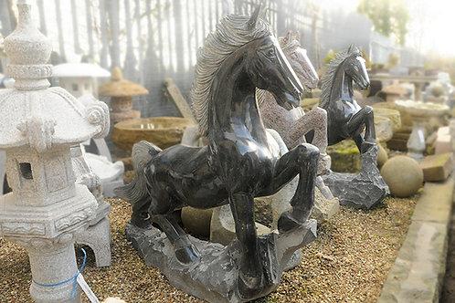 Large Granite Horse/Pony Black