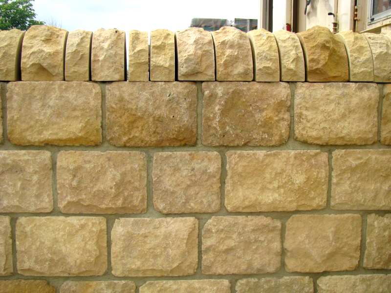 215mm Tumbled Limestone