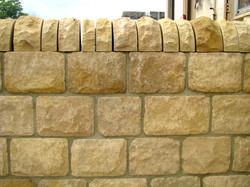 215mm Tumbled Limestone