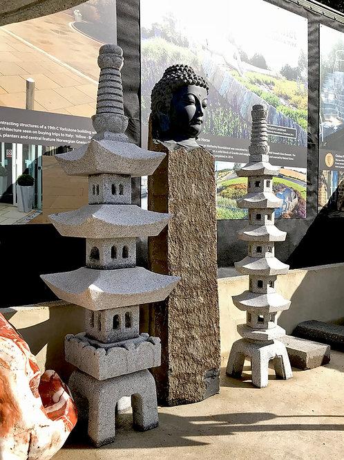 Japanese Lantern:  San Ju Tou 3 Tier
