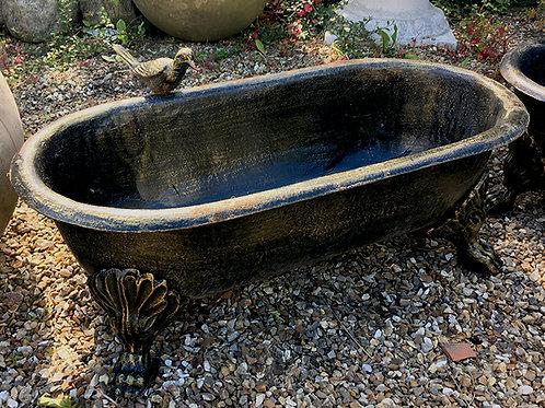 Bath Planter, Bronze Finish