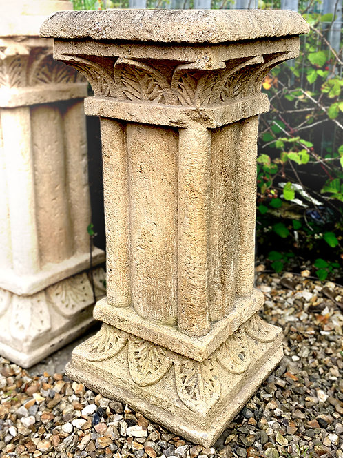 Cathedral Handmade Gritstone Plinth