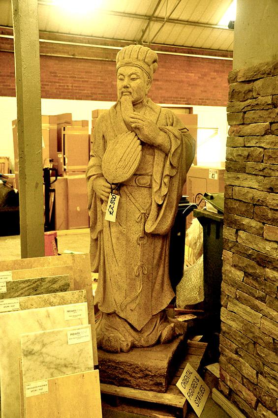 Granite Japanese Emperor