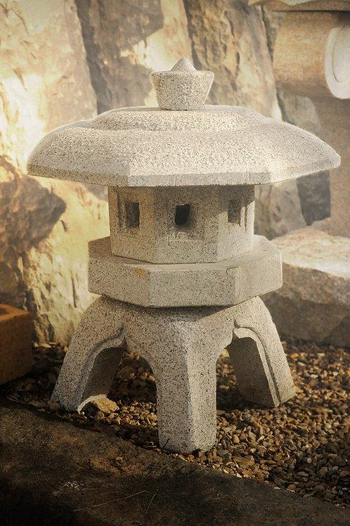 Japanese Lantern Sen Yu Ji - Grey Granite