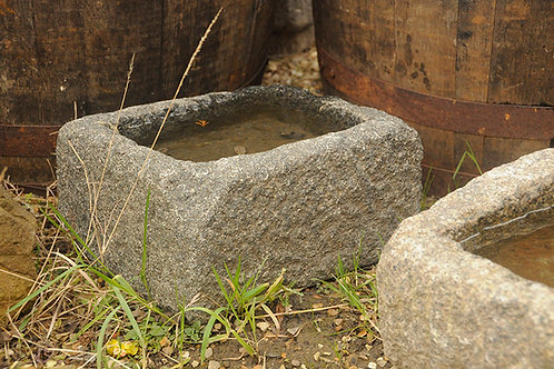 Small Granite Trough (size and colour varies)