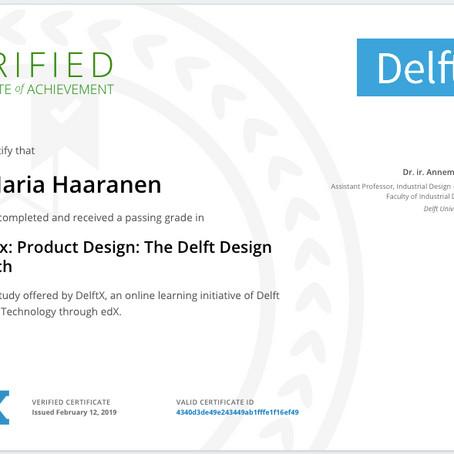 Latest studies - Product Design: The Delft Design Approach