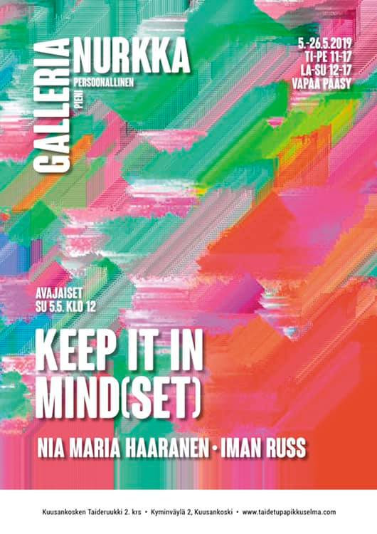 Keep it in mind(set) - Nia Maria Haaranen  - Iman Russ  - Galleria Nurkka