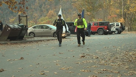 Veteran's walking 170 miles for Wounded Warrior Project. WNEP