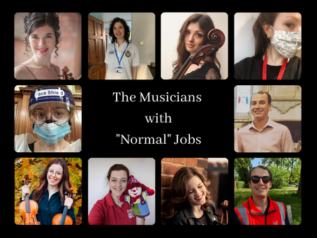 "The Musicians with ""Normal"" Jobs: A Lockdown Special"