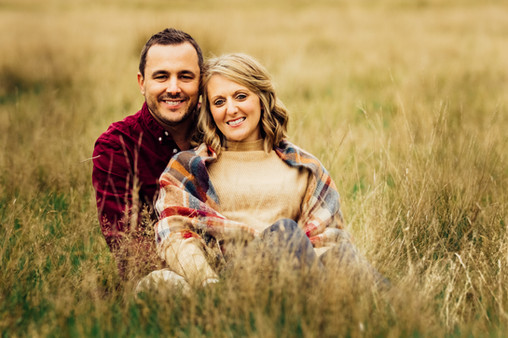 Couple in grass, Petworth Park, West Sussex