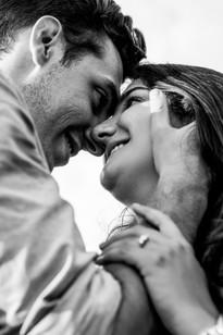 Engagement couple, Petworth Park