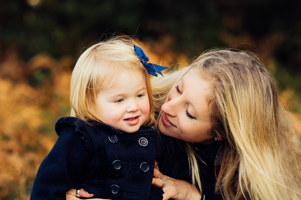 Mother and daughter photographs, Surrey