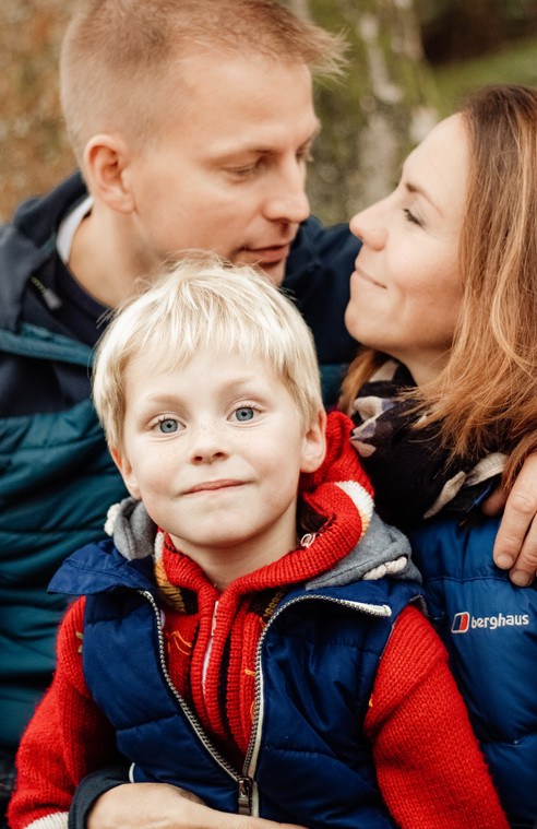 Family headshot, Surrey