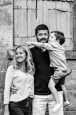 Family photograph at Petworth Park