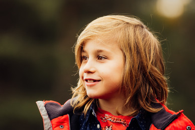 Boy photographed at Ambersham Common