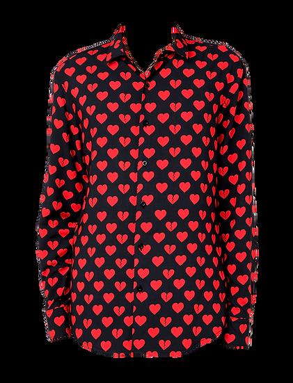 Camicia Uomo Hearts
