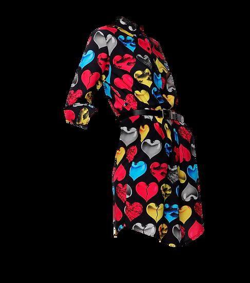 Camicia Donna Multihearts