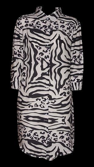 Camicia Donna Leopard Zebra