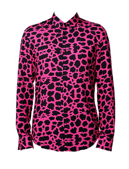 Camicia Uomo Leopard