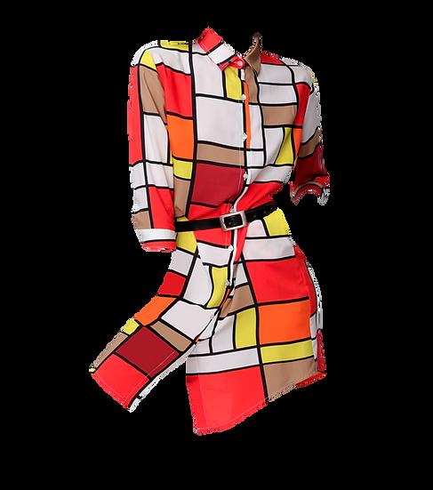 Camicia Donna Geometry