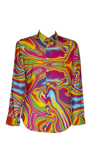 Camicia Uomo Liquido